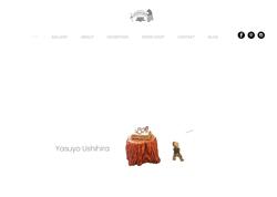 牛平安代さま 木彫制作 Kirikabu